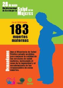 Postal 28 de mayo, salud de las mujeres sin-02