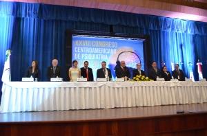 Integrantes mesa directiva Congreso de Siquiatría.