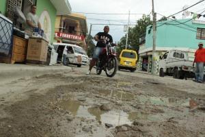 """Una de las """"calles"""" de Cancino Adentro."""