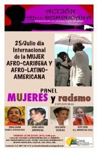 Afiche de promoción del panel.