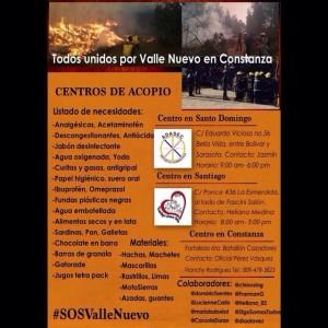 Fuego en Valle Nuevo Pedidos de la Fundación Moscoso Puello 27 07 2014