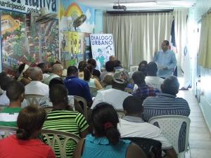 Participantes en el Diálogo Urbano.
