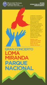 Concierto  Loma Miranda
