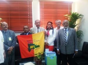 Comisión del MPT en la JCE.