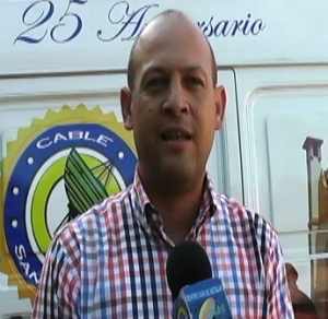 Pablo Estévez, dirigente del Falpo, en San Cristóbal.
