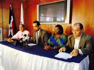 Integrantes del Comité de Solidaridad con las Personas Desnacionalizadas.