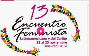 Afiche de promoción del Encuentro Feminista.