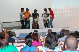 Presentación en inicio del diplomado. Foto Inafocam.