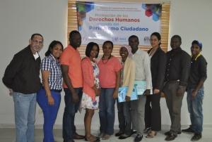 Grupo que inició el proyecto de formación sobre periodismo ciudadano.
