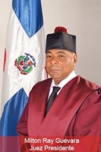 Milton Ray Guevara, presidente del TC.