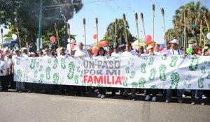 Foto Vicepresidencia de la   República. Caminata 2013.