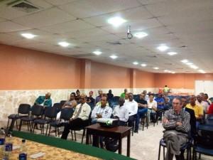 Asistentes al Análisis de Coyuntura del Centro Bonó.