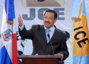 Roberto Rosario, presidente de la JCE. Foto JCE.