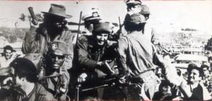 Entrada de Fidel a La Habana.