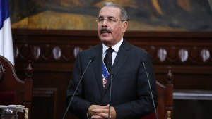 Danilo Medina ante la Asamblea Nacional.