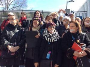 Protesta frente a la sede de Naciones Unidas en Nueva York. Foto SEMlac.
