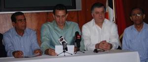 Integrantes del Comité Pro Carretera.