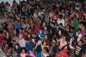 Parte del público asistente al concierto. Foto Lorena Espinoza Peña.