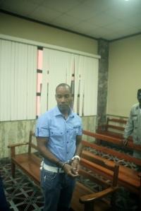 Héctor Pichardo, dirigente del FELABEL encarcelado.