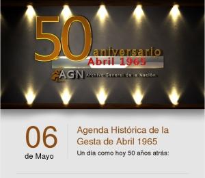 6 de mayo Guerra de Abril