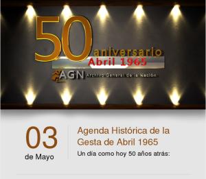 Agenda histórica Revolución de Abril