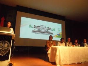 Conferencia trabajo social