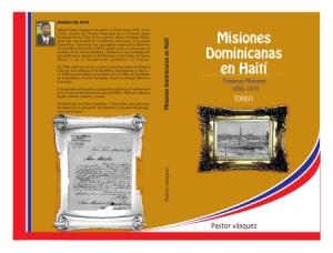 Portada libro Misiones Dominicanas en Haití.