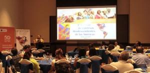 Integrantes de la Red de Mujeres Afrolatinoamericana, Afrocaribeñas y de la Diáspora, anuncian en rueda de prensa la celebración del evento. Foto http://www.asamblea.gob.ni.