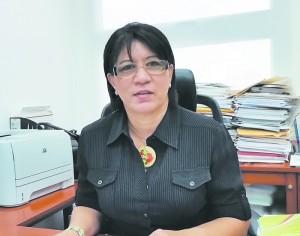 Minerva Pérez, Directora General de Orientación y Sicología del Minerd.