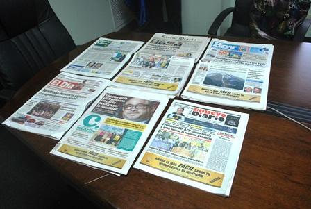 Periódicos impresos dominicanos