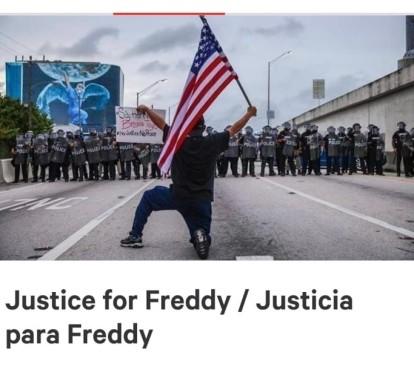 Protesta Freddy Peralta